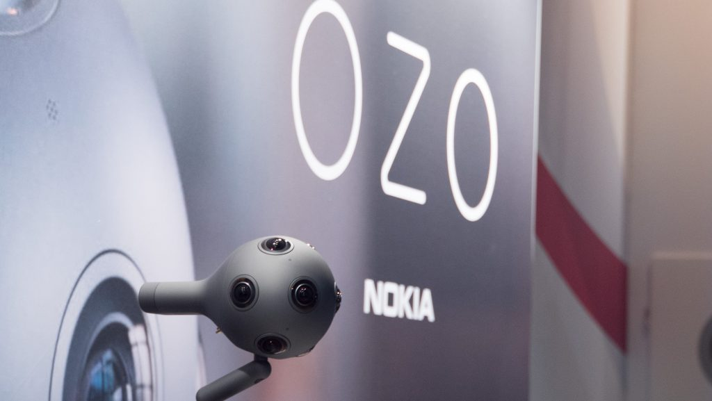 Nokia et sa toute nouvelle caméra VR 360, baptisée OZO.